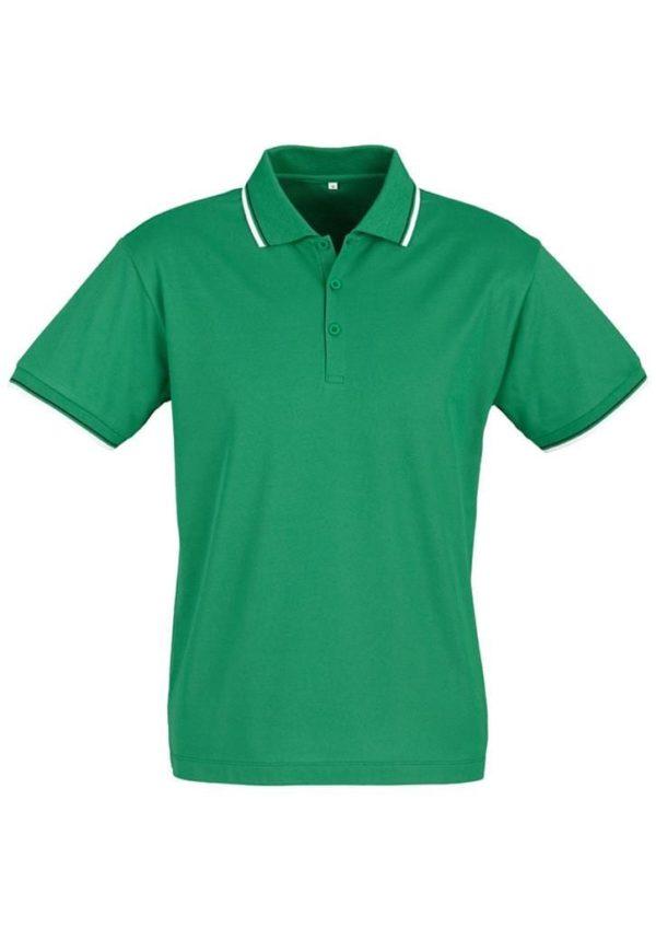 Cambridge Unisex Polo Emerald/White/Black