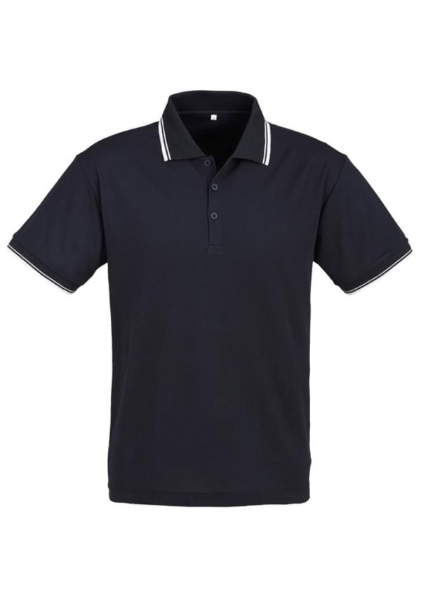 Cambridge Unisex Polo Navy/White/White