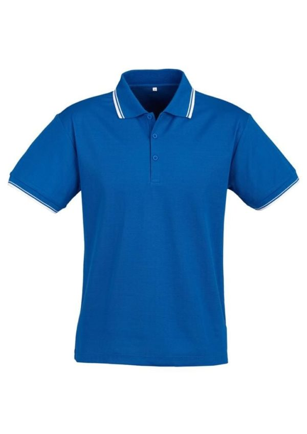 Cambridge Unisex Polo Royal/White/White