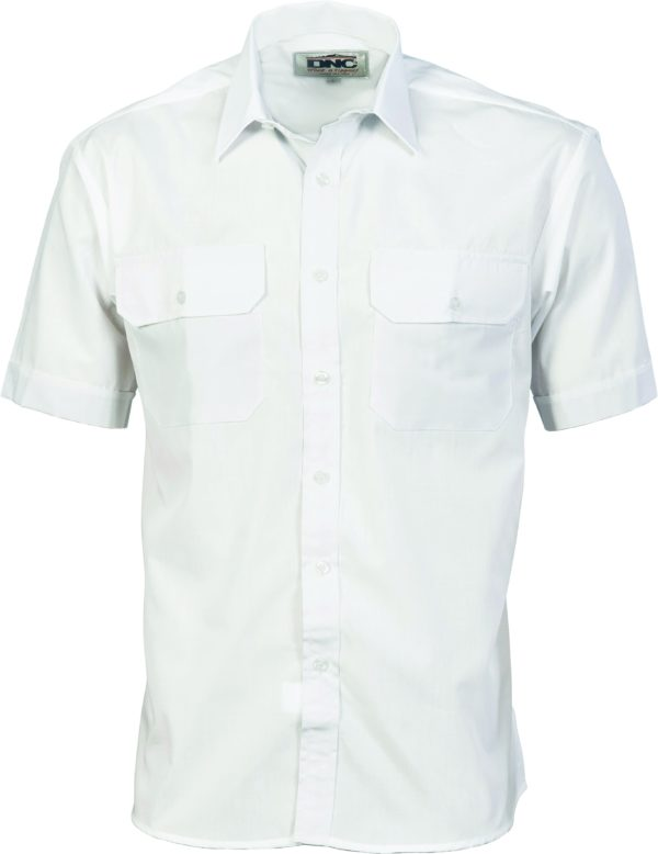 Mens Drill Shirt Navy