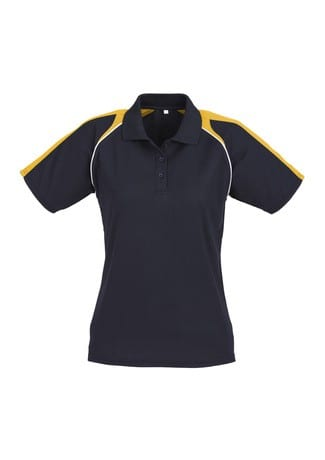 Triton Ladies Polo Navy/Gold/White