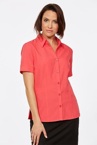 Short Sleeve Ezyline Action Back Shirt Melon