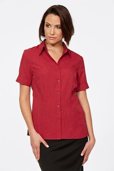 Short Sleeve Ezyline Action Back Shirt Pepper