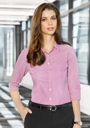 Advatex Lindsey Ladies 3/4 Sleeve Shirt