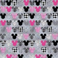Mickey Mouse V-Neck scrub Top Zoom