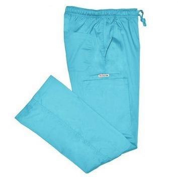 Ladies Cargo Pant aqua