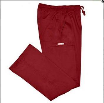 Ladies Cargo Pant burgundy