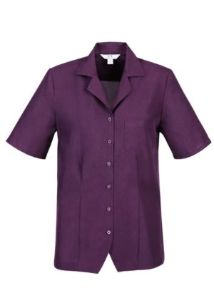 Short Sleeve Esylin Shirt Grape