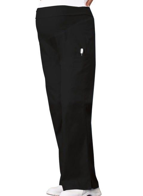 Maternity Scrub Pants Black