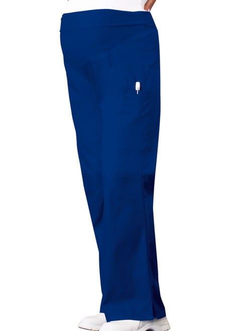 Maternity Scrub Pants Galaxy Blue