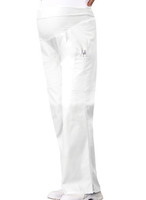 Maternity Scrub Pants White