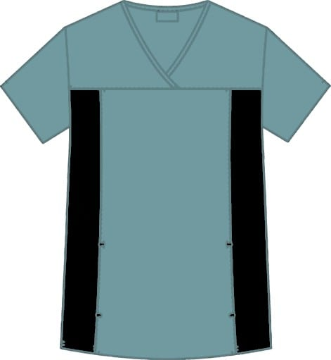Flexi V-Neck Scrub Top Lagoon