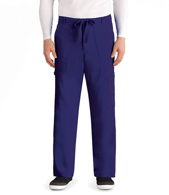 Drawstring Scrub Pants Purple Rain