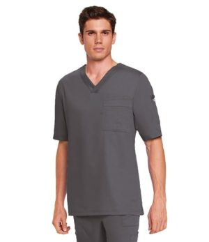 3 Pocket Scrub Top Nickel