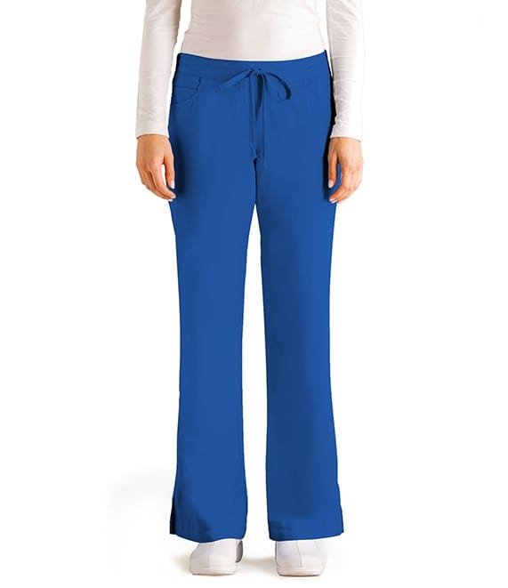 5 Pocket Drawstring Scrub Pant New Royal