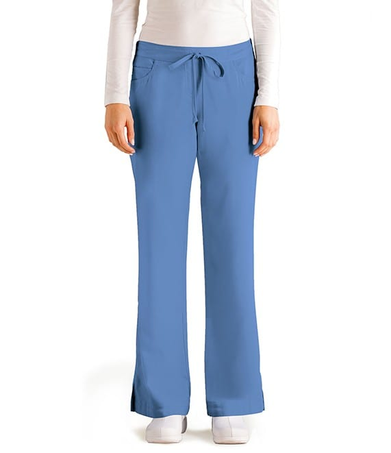 5 Pocket Drawstring Scrub Pant Ciel