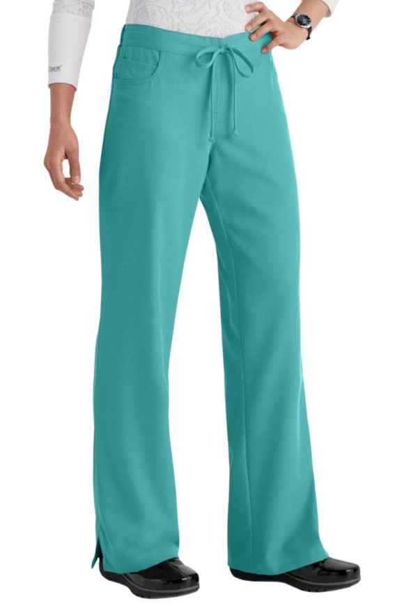 5 Pocket Drawstring Scrub Pant Legend
