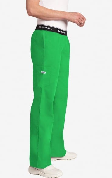 Boot Cut Flip Flap Scrub Pant Lime Green