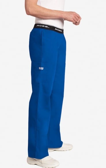 Boot Cut Flip Flap Scrub Pant Royal
