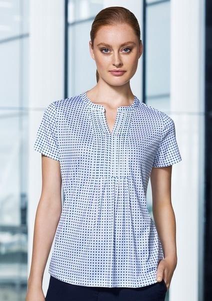 Advatex Ladies Sandy Linear Pleat Knit Top