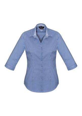 Newport Ladies 3/4 Sleeve Shirt French Navy