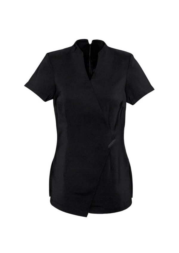 Ladies Spa Tunic Black