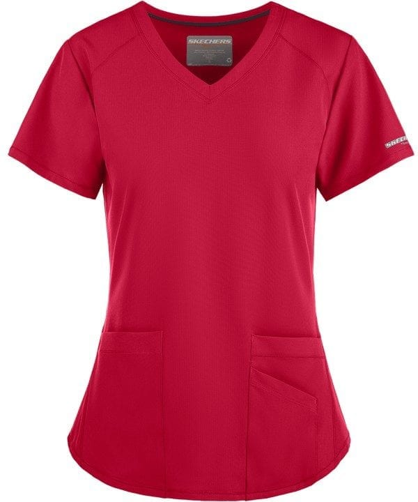Vitality Scrub Top Cherry Pie