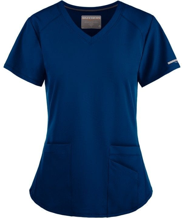 Vitality Scrub Top New Royal