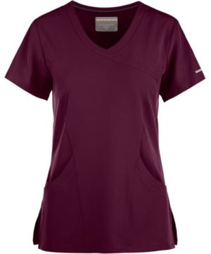 Reliance Scrub Top Wine