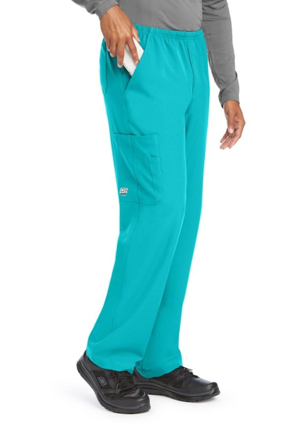 Structure Scrub Pant Teal