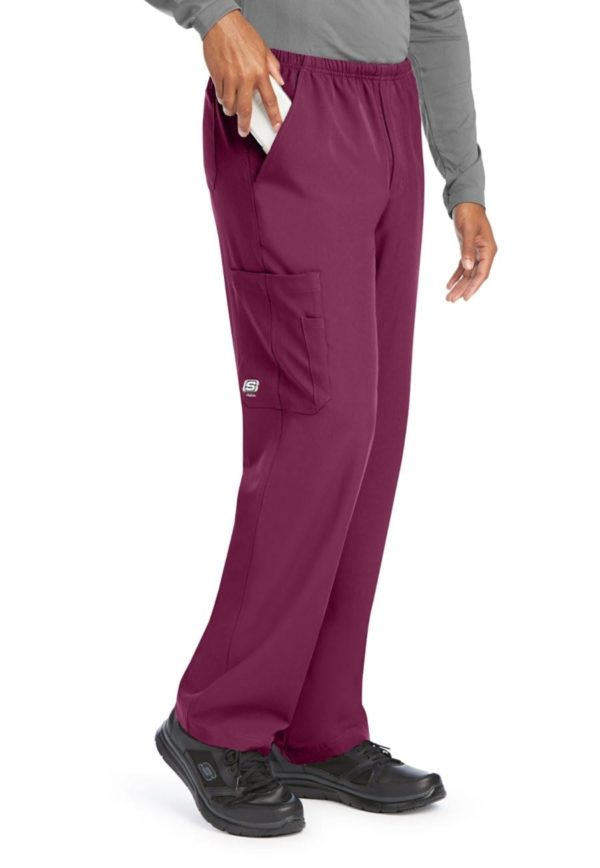 Structure Scrub Pant Wine