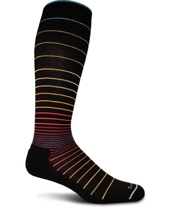 Sockwell Circulator Sock Black Stripe