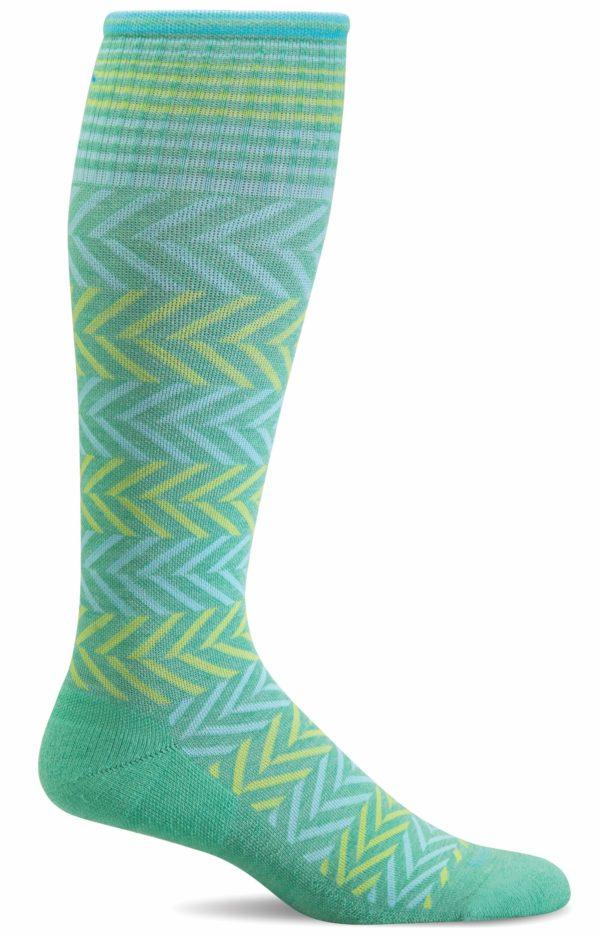 Sockwell Chevron Sock Spearmint