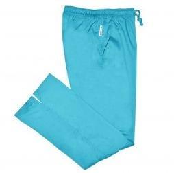 Ladies Bootcut Scrub Pants Teal