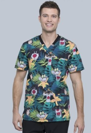 In the Jungle Scrub Top
