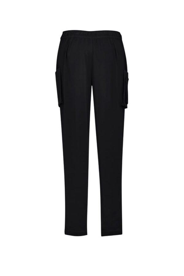 Women's Slim Leg Scrub Pant Black