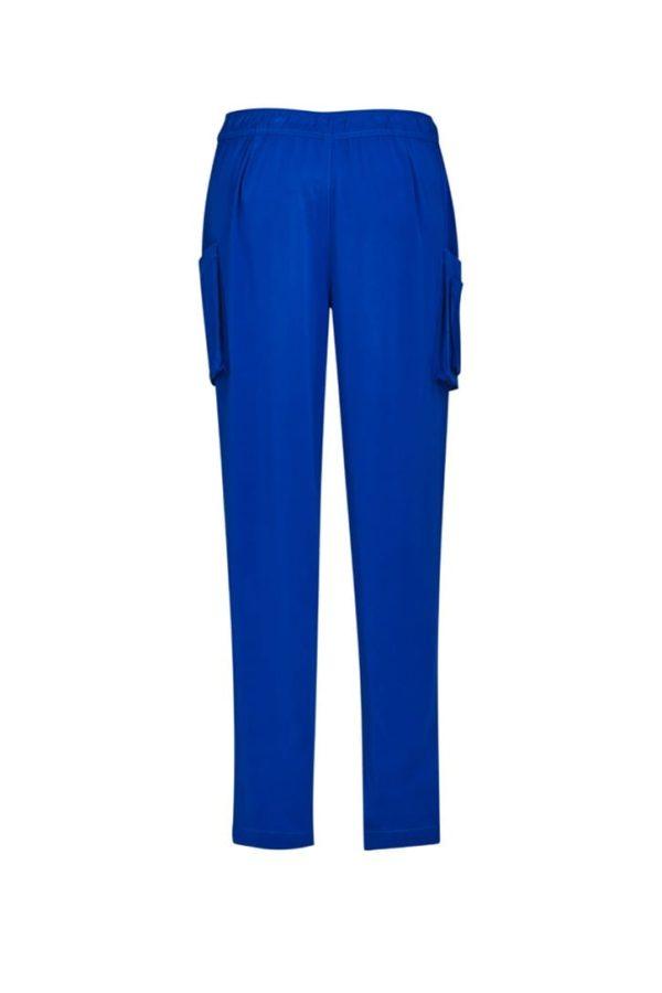 Women's Slim Leg Scrub Pant Electric Blue